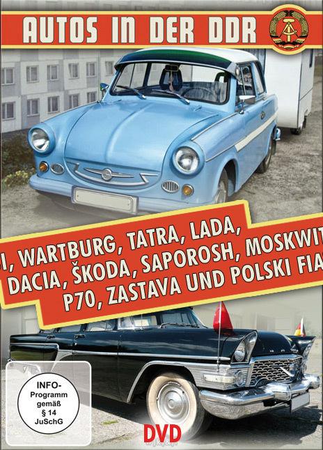 Autos in der DDR - Trabi, Wartburg, Tatra und Lada (DVD)